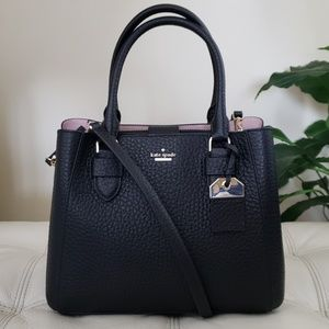 Kate Spade Carter Aliana Leather Satchel